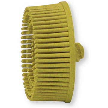 Mini-Igel Bristle-Disc alb 50mm P120
